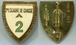 PA334 INSIGNE AIR AVIATION  (A 883) 2° Escadre De Chasse, DIJON, émail AUGIS NUMEROTE - Forze Aeree