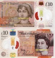 ENGLAND, Set Of £10&20, 2020, P-NEW, POLYMER, New Signature, Q. Elizabeth II, UNC - [ 1] Grossbritannien