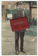 Charleroi. Je Vous Apporte Des Nouvelles De Charleroi.  Carte à Système. Dépliant Plusieurs Petites Vues. **** - Charleroi
