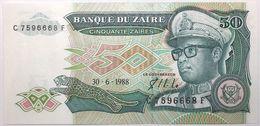 Zaïre - 50 Zaïres - 1988 - PICK 32a - NEUF - Zaire