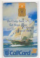 IRLANDE 20U CALLCARD The Cutty Sark Voilier - Irland