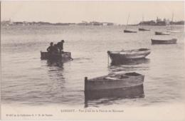 Bv - Cpa LORIENT - Vue Pris De La Pointe De Kerouan (Keroman, Au Fond, Port Louis Et Kernevel) - Lorient