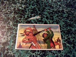 """Image Chocolat LOUIT Image No 14 """" Délivrance"""" Album Le Dernier Des Mohicans - Louit"""