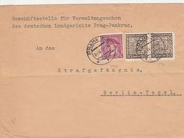 Bohême Et Moravie Lettre Précurseur Prag 24.4.39 - Covers & Documents