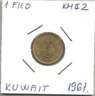 B1 Kuwait 1 Fils 1961. KM#2 High Grade - Kuwait