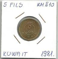 B2 Kuwait 5 Fils 1981. KM#10 - Kuwait