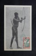GUYANE - Carte Maximum - Indien Tirant à L 'Arc - L 63138 - Guyane Française (1886-1949)