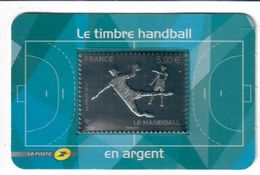 France 2012 Timbre Autoadhesif N° AA738 Argent Handball - Ungebraucht