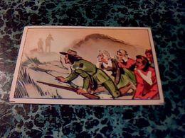 """Image Chocolat LOUIT Image No 18 """" Brume Complice """" Album Le Dernier Des Mohicans - Louit"""