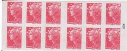 Marianne De Beaujard, TVP Rouge Carnet De 10 TP N° 4197-C17 (La Boutique Du Courrier Pour Les Pros), Neuf ** - Usage Courant