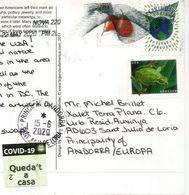 "Native American Symbols With Coronavirus Covid19 Label Lockdown In Andorra.  STAY HOME ""QUEDA'T A CASA"" - Indianer"