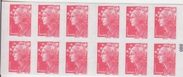 Marianne De Beaujard, TVP Rouge Carnet De 10 TP N° 4197-C26 (Terres Australes ...), Neuf ** - Usage Courant