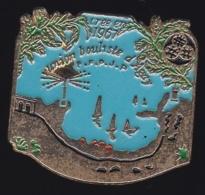 65538-Pin's-Union Bouliste D'Agay.Saint-Raphael.Var.Pétanque - Pétanque