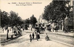 CPA PARIS (11e) Boulevard Voltaire. Et Richard-Lenoir. (538869) - Arrondissement: 11