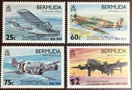 Bermuda 1993 RAF Air Force Anniversary Aircraft MNH - Bermuda