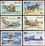Belize 1993 RAF Air Force Anniversary Aircraft MNH - Belize (1973-...)