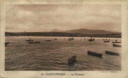 FUENTERRABIA BIDASOA BARCOS - San Sebastian Guipuzcoa Gipuzkoa Pais Vasco Basque España Espagne Spain - Guipúzcoa (San Sebastián)