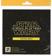 """Bloc Feuillet Star Wars 1 Maxi-timbre """" Le Réveil De La Force """" Tout Savoir Sur L'univers """" 40 000 Ex. Neuf Sous Blister - Collectors"""