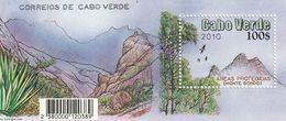 Cape Cabo Kap Verde Birds And Plants Bird Monte Gordo MNH ** Block  2010 - Islas De Cabo Verde
