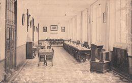 Asse Assche Klein Liefdewerk Van Het H. Hart Eetzaal Réfectoire ( Zegel Van Wereldtentoonstelling 1935 Brussel ) - Asse