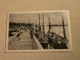 Belle Carte Ancienne 1949 LE CROTOY Arrivée Des Bateaux Dans Le Port - Le Crotoy
