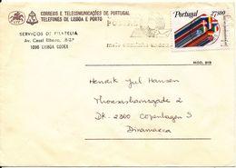 Portugal Cover Sent To Denmark 16-12-1982 - 1910-... République