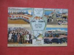 Capt Starn's Restaurant Atlantic City New Jersey Ref 4156 - Atlantic City