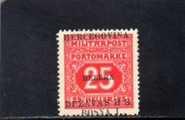ROYAUME DES SERBES,CROATES ET SLOVENES 1919 * VARIETE' - 1919-1929 Königreich Der Serben, Kroaten & Slowenen