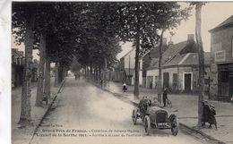 Grand Prix De France (Circuit De La Sarthe 1911)  -  Arrivée A La Lune De Pontilieue  -  CPA - Grand Prix / F1