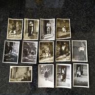 86. MONTMORILLON Lot 13 Photos Originale (1943 ?) + Documents + Négatifs - Montmorillon