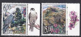 Tr_ Jugoslawien 1999 - Mi.Nr. 2910 - 2911 - Postfrisch MNH - Tiere Animals Vögel Birds Europa CEPT - Adler & Greifvögel