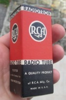 Tube, Lampe Radio US  ARMY   Ww2 Datée 1942 USA - 1939-45