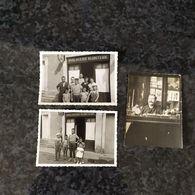 3 Photos Originales Horlogerie Bijouterie Famille VIGNERAS / 86. MONTMORILLON / 16 CHASSENEUIL - Montmorillon