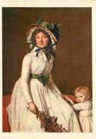 Art - Peinture - Louis David - Madame Sériziat - CPM - Voir Scans Recto-Verso - Peintures & Tableaux