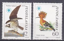 Tr_ Jugoslawien 1985 - Mi.Nr. 2100 - 2101 - Postfrisch MNH - Tiere Animals Vögel Birds - Ohne Zuordnung