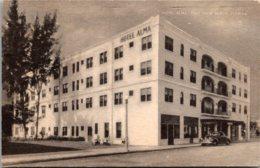 Florida West Palm Beach Hotel Alma 1949 - West Palm Beach