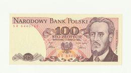 Banconota Nuova Non Circolata 100 NARODOWY BANK POLSKI - STO ZLOTYCH - POLONIA - Pologne