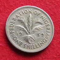 Nigeria 1 One Shilling 1959 KM# 5 - Nigeria