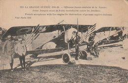Carte Postale. France. Grande Guerre 1914-16. Offensive Franco-anglaise De La Somme. - Guerra 1914-18