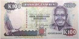 Zambie - 100 Kwacha - 1991 - PICK 34a - NEUF - Zambie