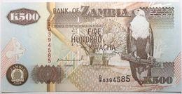 Zambie - 500 Kwacha - 1992 - PICK 39a - NEUF - Zambie