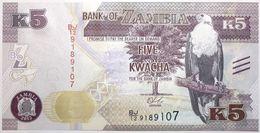 Zambie - 5 Kwacha - 2015 - PICK 57a - NEUF - Zambie