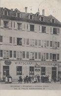 CPA - STRASSBURG - STRASBOURG (BAS-RHIN) - RESTAURANT ZUR GOLDENEN LÖWEN - A. FELIX - Strasbourg