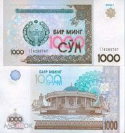 Uzbekistan 1000 Sum 2001 UNC - Usbekistan