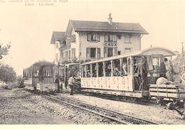 BVA- Gare De Caux- Montreux-Glion-Rochers De Naye GN MGN G.N. M.G.N. Ligne De Chemin De Fer Train - VD Vaud