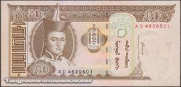 TWN - MONGOLIA 64a - 50 Tögrög 2000 Prefix AD UNC - Mongolia