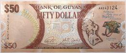 Guyana - 50 Dollars - 2016 - PICK 41 - NEUF - Guyana