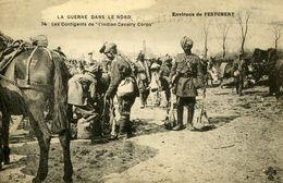 Guerre 14 18 LA GUERRE DANS LE NORD LES CONTINGENTS DE L'INDIAN CAVALRY CORPS FESTUBERT PAS DE CALAIS - Histoire
