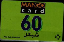 PALESTINE 2002 PHONECARD MANGO CARD USED VF!! - Palestine