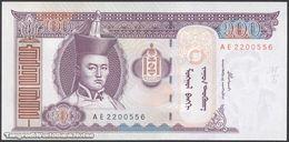 TWN - MONGOLIA 65a - 100 Tögrög 2000 Prefix AE UNC - Mongolia